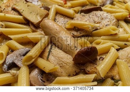 Cooking Italian Chicken Marsala