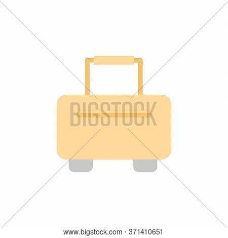 Luggage 2 Colored Icon. Simple Colored Element Illustration. Luggage Concept Symbol Design From Bag