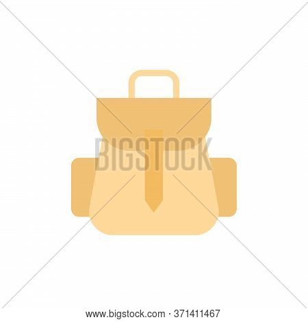 Briefcase 2 Colored Icon. Simple Colored Element Illustration. Briefcase Concept Symbol Design From
