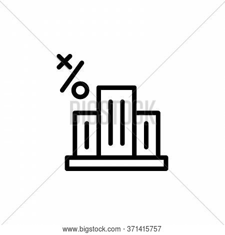 Office Building Concept Line Icon. Simple Element Illustration. Office Building Concept Outline Symb