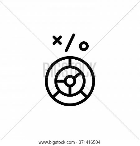 Labyrinth Concept Line Icon. Simple Element Illustration. Labyrinth Concept Outline Symbol Design Fr