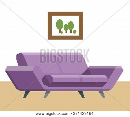 Sofa, Home Accessories. Furniture Design. Furniture Decorative. Comfortable Sofa. Luxury Couch For A