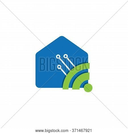 Modern Smart House Logo