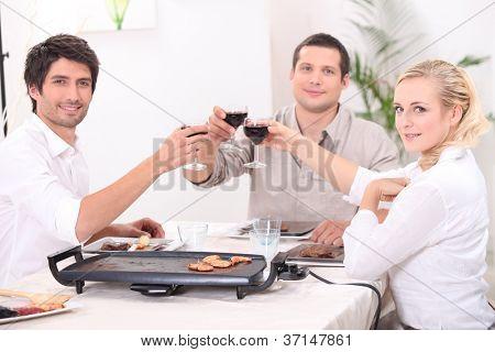 Convivial meal