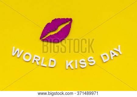 World Kiss Day Or International Kissing Day. 6th July