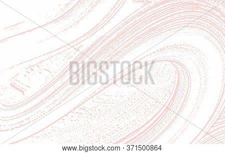 Grunge Texture. Distress Pink Rough Trace. Fantastic Background. Noise Dirty Grunge Texture. Quaint