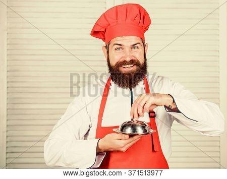 Delicious Meal Presentation. Haute Cuisine Characterized Meticulous Preparation And Careful Presenta