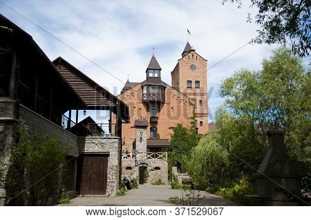 Radomysl Castle, Radomyshl. Ukraine. Econstructed Fortress In Radomyshl. The Ancient Castle In The C