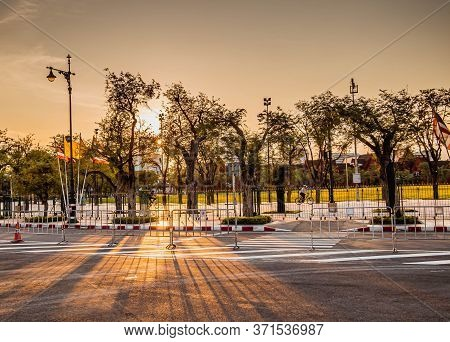 May 2020 Bangkok Thailand, Silence Atmosphere In Old Town Of Bangkok Thailand During Lock Down The C