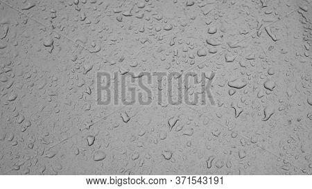 Rain Weather Wet Car Glass, Dusty Window With Raindrops, Rain Water Autumn Rain, Backdrop Drop Textu