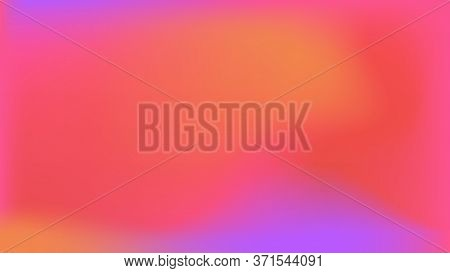 Vector Abstract Mesh Gradient Background For Wallpaper Or Social Media Web Banners. Multicolorful Li