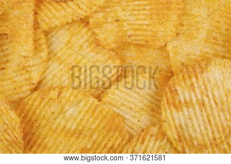 Potato Chips Background, Chips Texture Background, Chips Texture