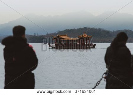 February 2020, Hangzhou, China. The Position Of The City Near The West Lake Is What Makes It Famous
