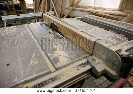 Table Saw In Workshop