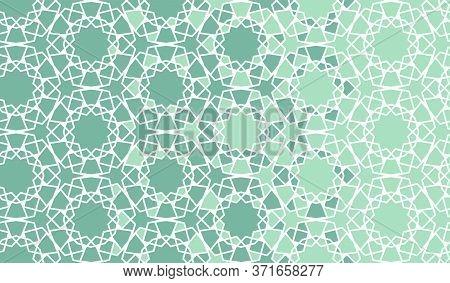 Arabian Disintegration Border, Background, Backdrop. Arabian Color Turquoise Background
