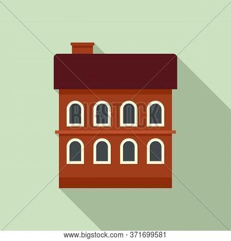 Riga Building Icon. Flat Illustration Of Riga Building Vector Icon For Web Design