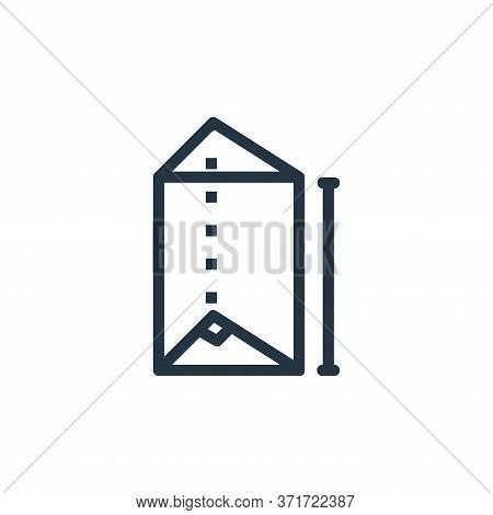prism icon isolated on white background from  collection. prism icon trendy and modern prism symbol