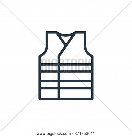 vest icon isolated on white background from  collection. vest icon trendy and modern vest symbol for