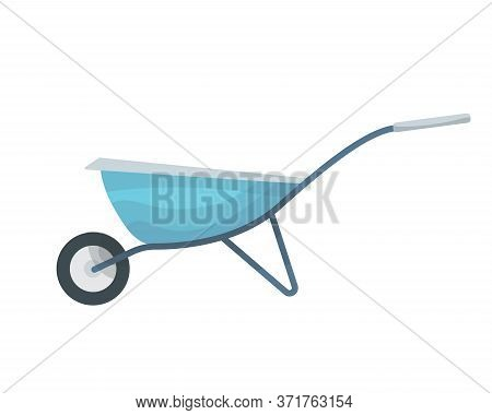 Element Of Garden Set. Agricultural Tool For Garden Care, Colorful Vector Flat Illustration. Gardeni