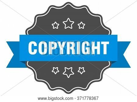 Copyright Blue Label. Copyright Isolated Seal. Copyright