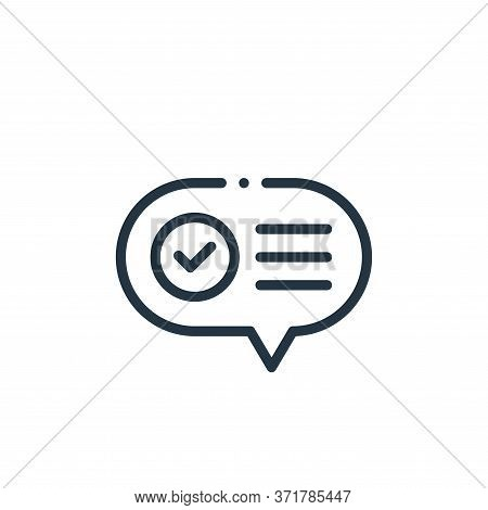communication icon isolated on white background from  collection. communication icon trendy and mode