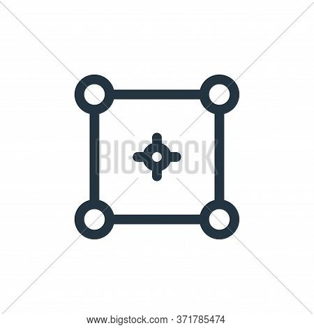 Selector Vector Icon Isolated On White Background.