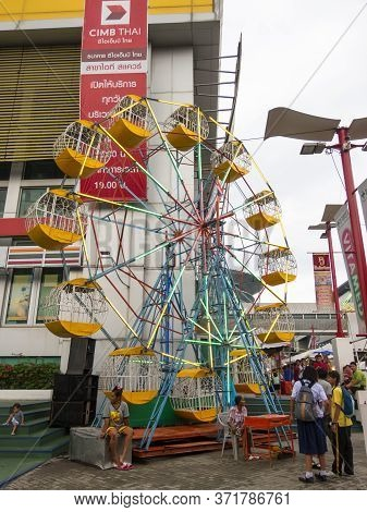 Small Amusement Park Bangkok,thailand-14 September 2018:small Playable Amusement Park. On, 14 Septem