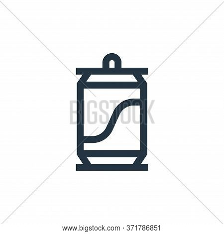 beer can icon isolated on white background from  collection. beer can icon trendy and modern beer ca