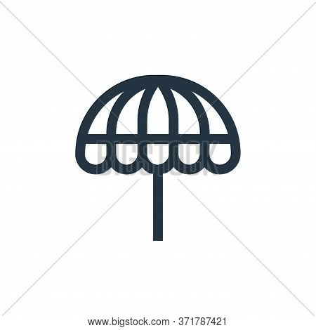 parasol icon isolated on white background from  collection. parasol icon trendy and modern parasol s