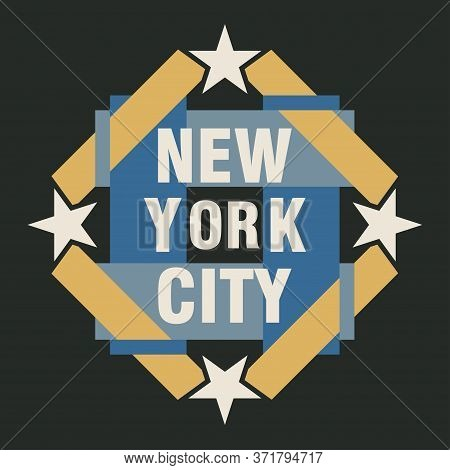 New York Typography, T-shirt Nyc, Design Graphic, Printing Man Nyc