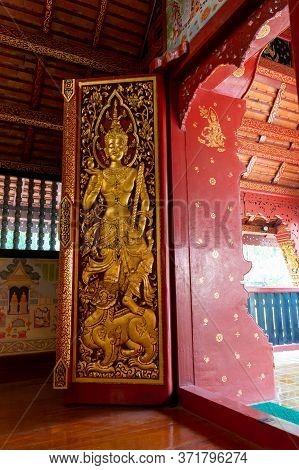 Chiang Rai Thailand -15 March 2020:the Phra Sihing Buddha Or Phra Singh Is A Buddha Statue Of Lanna
