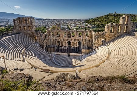 The Ancient Odeon Of Herodes Atticus Theatre