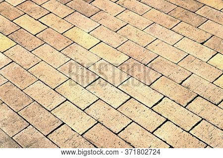 Street Paving. Abstract Background Of Paving Stones. Cobblestone Pavement. Background For Creativity