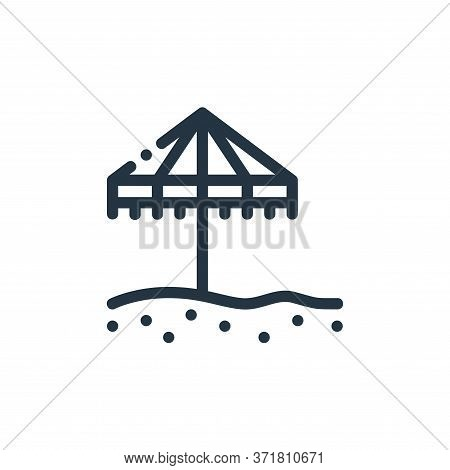 umbrella icon isolated on white background from  collection. umbrella icon trendy and modern umbrell