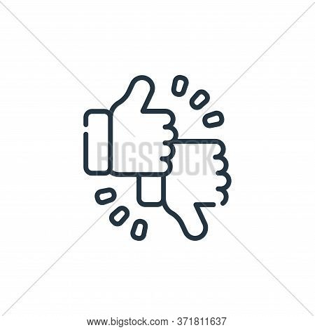 feedback icon isolated on white background from  collection. feedback icon trendy and modern feedbac