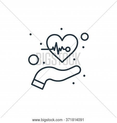 care icon isolated on white background from  collection. care icon trendy and modern care symbol for