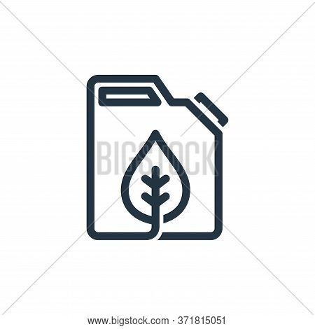 organic oil icon isolated on white background from  collection. organic oil icon trendy and modern o
