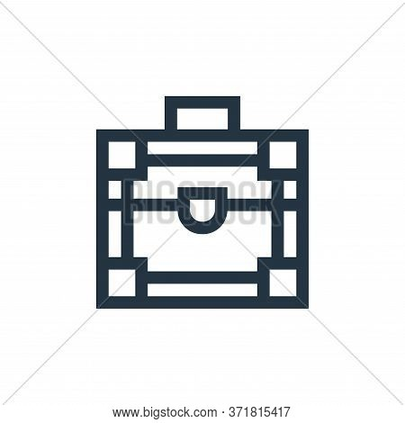make up box icon isolated on white background from  collection. make up box icon trendy and modern m