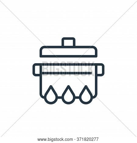 cooking icon isolated on white background from  collection. cooking icon trendy and modern cooking s