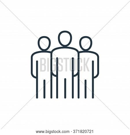 leadership icon isolated on white background from  collection. leadership icon trendy and modern lea
