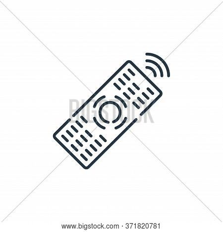 remote icon isolated on white background from  collection. remote icon trendy and modern remote symb