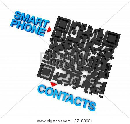 QRcode Smart Phone Contacts