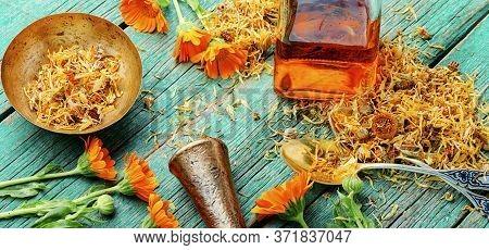 Calendula In Herbal Medicine