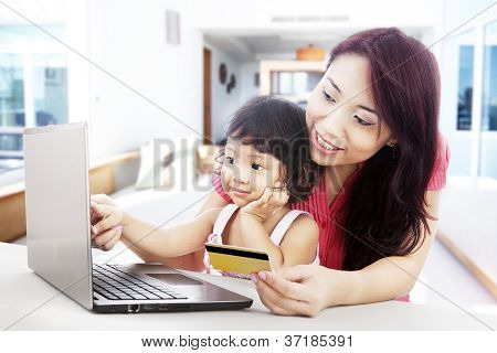 Internet Shopping At Home