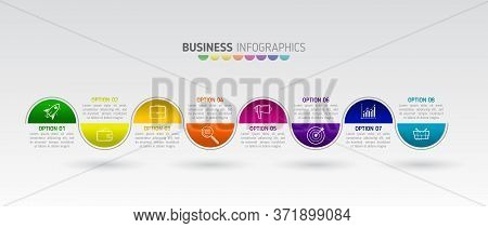 Art Design Info Graphics Business Template. Creative Infographic Vector Illustration In The Form Of