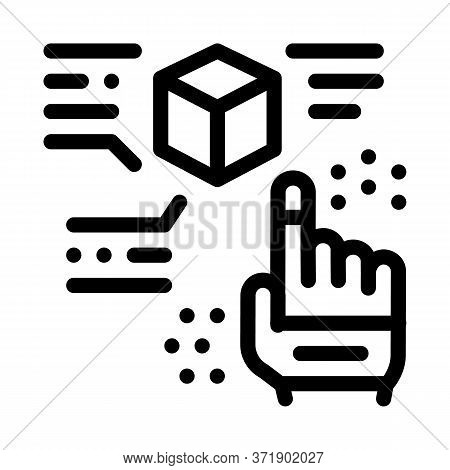 Function Parsing Icon Vector. Function Parsing Sign. Isolated Contour Symbol Illustration