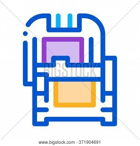Protective Case Window Glass Icon Vector. Protective Case Window Glass Sign. Color Symbol Illustrati