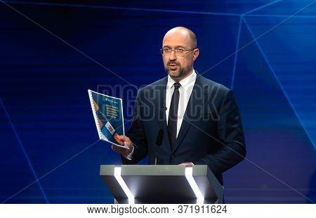 Prime Minister Of Ukraine Denis Shmygal