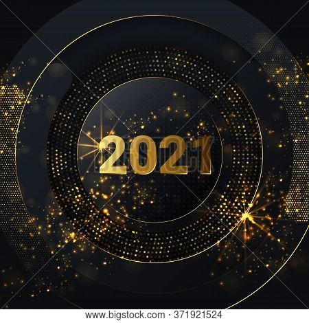 Happy New Year 2021 Vector Photo Free Trial Bigstock