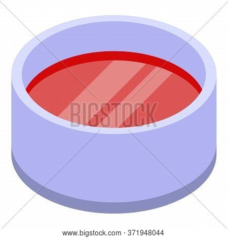 Grinded Meat Icon. Isometric Of Grinded Meat Vector Icon For Web Design Isolated On White Background